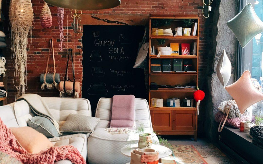 Indret dit hjem med mange farver og former