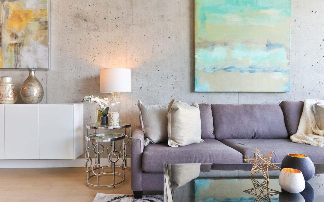 Stue med sofa