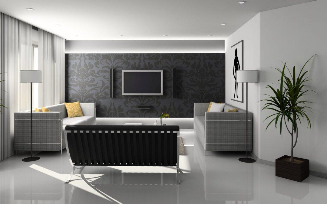 Indret det moderne hjem