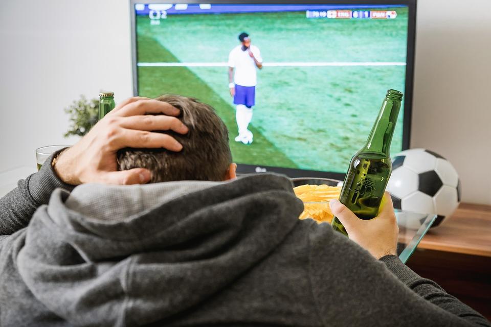 Fodbold på fjernsyn